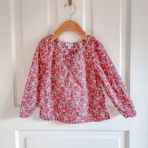 C de C floral print blouse